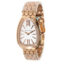 Bulgari Serpenti 103146 Women's Watch in 18kt Rose Gold