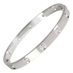 Cartier Love Diamond Bracelet in 18K White Gold 0.96 CTW