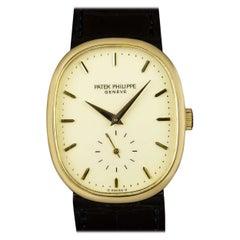 Patek Philippe Ellipse Vintage Men's 18k Yellow Gold Cream Dial 3948