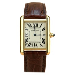 Cartier Tank Louis Cartier Large Model W1529756 with Box and Paper