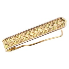 Cartier 18kt Gold Brooch Pin