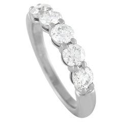 Tiffany & Co. Embrace Platinum 1.00 Ct Diamond Wedding Band Ring
