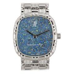 Audemars Piguet White Gold Blue Opal Dial Cocktail Dress Watch