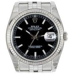 Unworn Rolex Datejust NOS 116234 Stainless Steel Watch