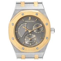Audemars Piguet Royal Oak Steel Yellow Gold Mens Watch 25730 Service Papers