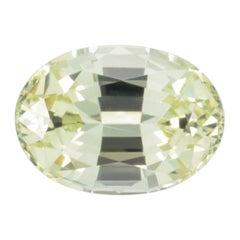Chrysoberyl Ring Gem 1.49 Carat Oval Loose Gemstone Loupe Clean