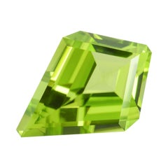 Peridot Ring Gem 2.67 Carat Kite Shape Loose Gemstone