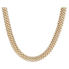 Fope Love Nest Necklace in 18KT Yellow Gold