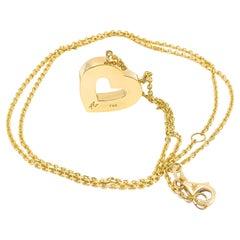 Heart Pendant in 18kt Gold