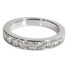 Tiffany & Co. Channel Diamond Wedding Band in Platinum F-G VS 1.00 CTW