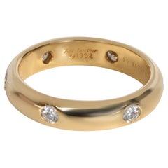 Cartier Stella Diamond Band in 18K Yellow Gold 0.30 CTW