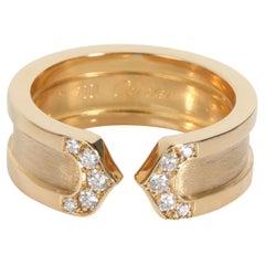 Cartier C de Cartier Diamond Band in 18K Yellow Gold 0.10 CTW