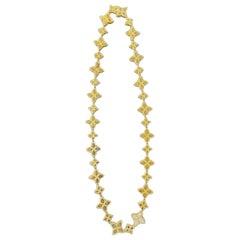 Roberto Coin Flower Necklace Collar