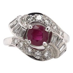 Retro Engagement Rings