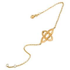 Connected Hearts Bracelet in 18kt Gold