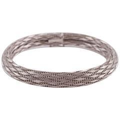 Braided Gold Bracelet