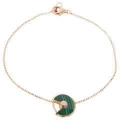 Cartier Amulette de Cartier Diamond Bracelet in 18K Pink Gold 0.02 CTW