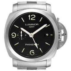 Panerai Luminor 1950 3 Days GMT Watch PAM00329 Box Papers
