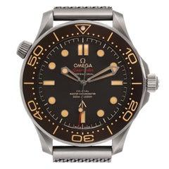 Omega Seamaster 007 Edition Titanium Watch 210.92.42.20.01.001 Unworn