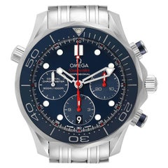 Omega Seamaster Diver 300M Blue Dial Watch 212.30.42.50.03.001 Box Card