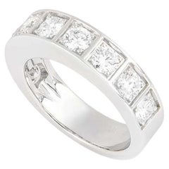 Cartier Diamond Half Eternity Ring 1.35ct