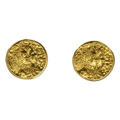 Piaget Salvador Dali 22k Yellow Gold Cufflinks