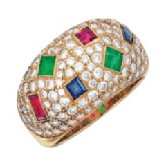 Hennell Multi-Color Gemstone Ring