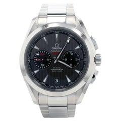Omega Seamaster Aqua Terra GMT Men's Watch 231.10.43.52.06.001 Stainless