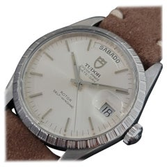 Mens Tudor Oyster Prince Ref 94510 Date Day Automatic 1980s Swiss RA251