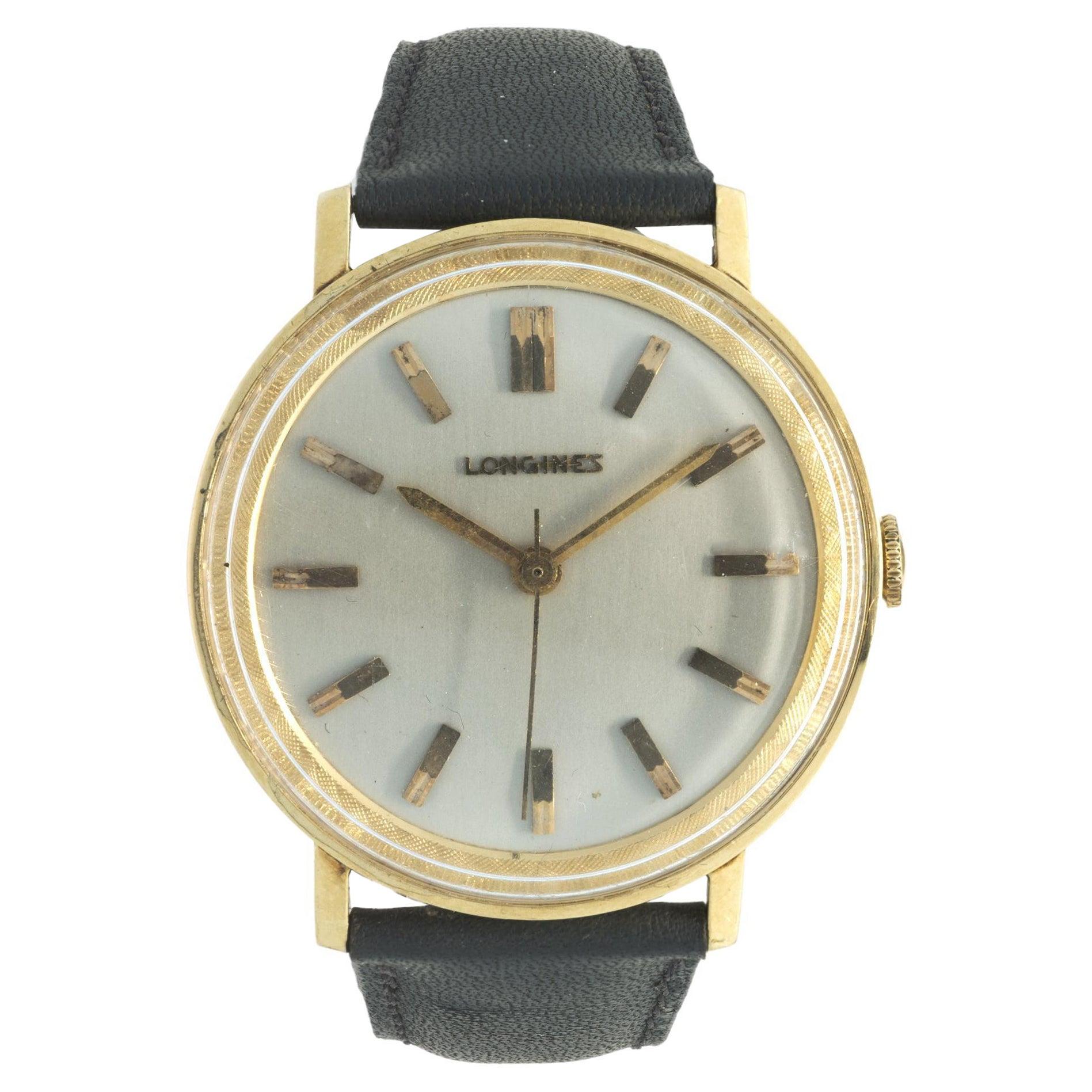 Longines 14 Karat Yellow Gold Vintage 1940-50's Wrist Watch
