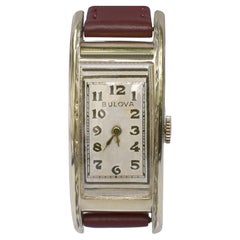 Art Deco Rolled Gold Filled Watch by Bulova, USA, c1928