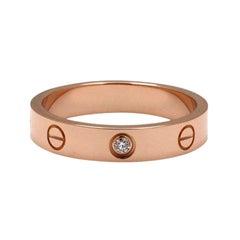 Cartier Love Rose Gold Diamond Wedding Band