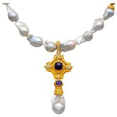Dimos South Sea Natural Baroque Pearls Necklace