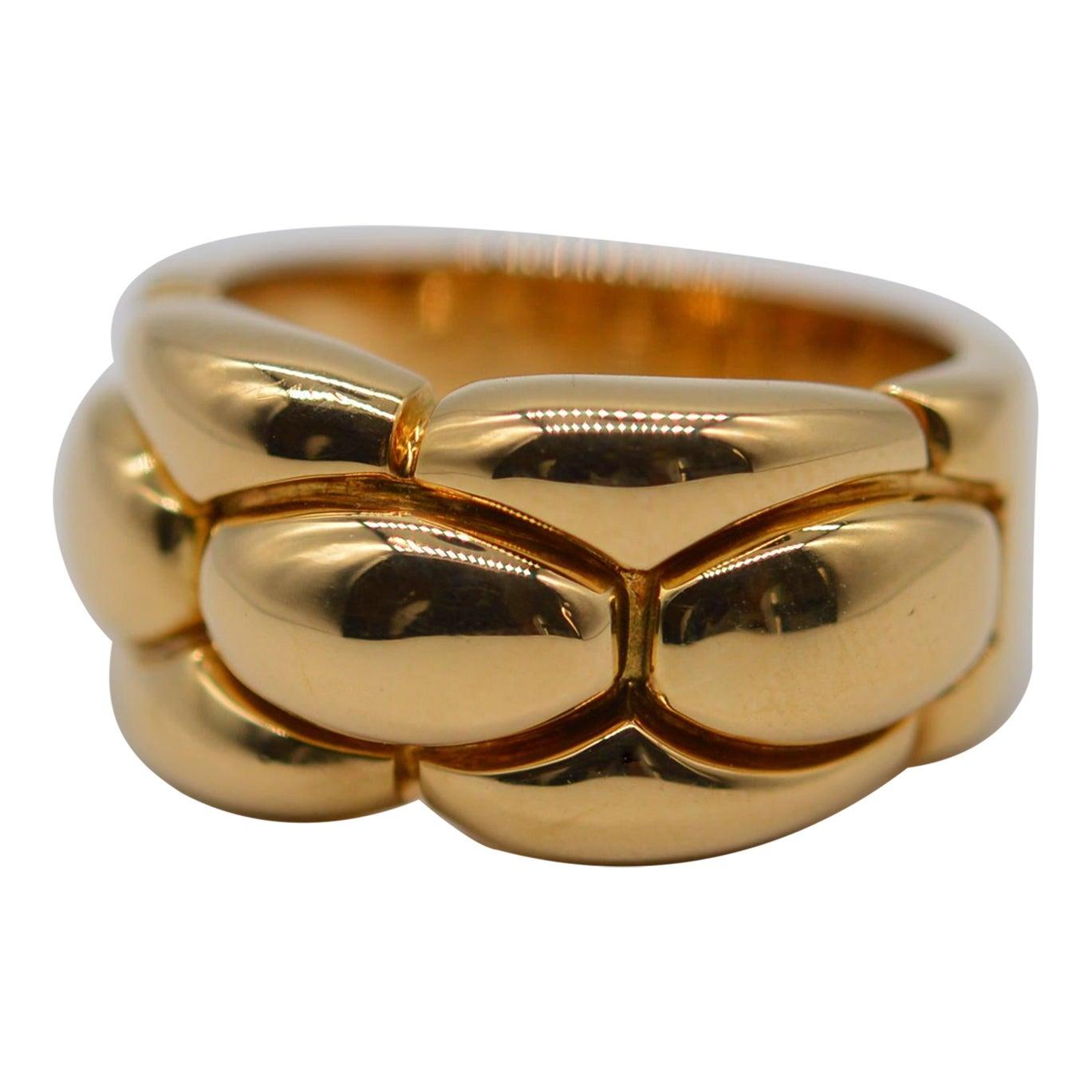 Cartier 18K Yellow Gold Ring Unworn