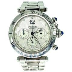 Cartier Pasha Seatimer W31030H3 Chronograph Automatic Wristwatch
