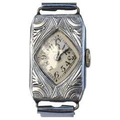 Art Deco Ladies Wrist Watch by Elgin, Serviced, c1930's
