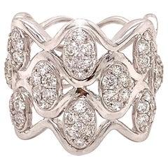 Fashionista Diamond White Gold Designer Ring