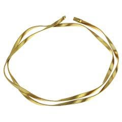 Marco Bicego, Marrakech, 18 Karat Yellow Gold Long/ Double Strand Necklace
