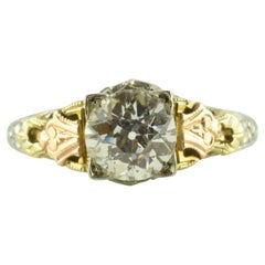 GIA Certified Solitaire Diamond Ring from Bud and Blossom