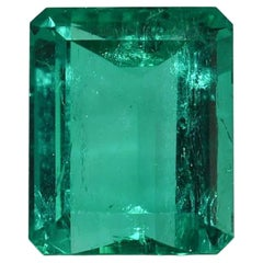 10.83 Emerald with GIA & AGL with Diamond Mount containing