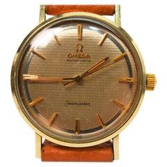 Vintage Men's Omega Seamaster Automatic Wristwatch