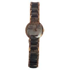Ladies Rado Diastar Swiss Watch Round Case Scratch Resistant Fully Serviced