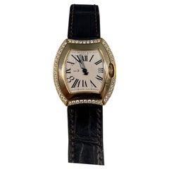 Bedat & Co. 18k Yellow Gold Watch with Diamond Bezel Ref. 334
