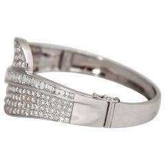 Beautiful Diamond Gold Bracelet