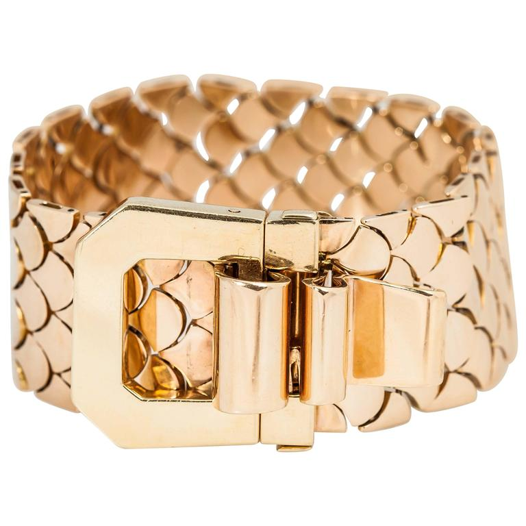 French Gold Bracelet