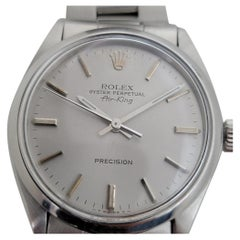 Mens Rolex Oyster Precision 5500 Air King Automatic 1960s Vintage RJC106