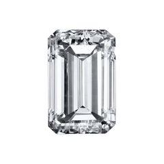 GIA Certified 2.04 Carat Emerald Cut Diamond F / VVS2 Triple Excellent