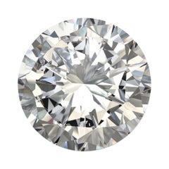 GIA Certified 1.09 Carat Round Cut Diamond N / SI1