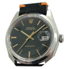 Mens Rolex Oysterdate Precision Ref 6694 Hand-Wind 1970s Vintage RJC110