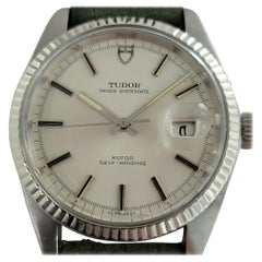 Mens Tudor Prince Oysterdate Ref 7025 18k Gold SS Automatic 1970s RJC117